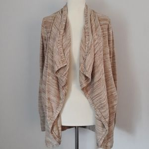 RQT Waterfall Cardigan Cascade Open Front Sweater